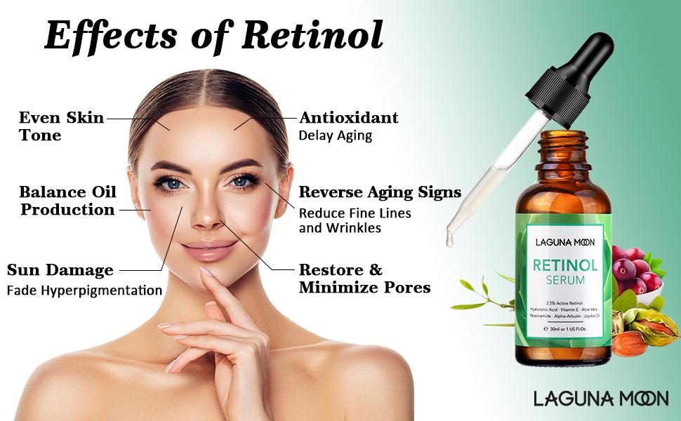 Effects of retinol
