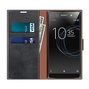 MOBESV Funda para Sony Xperia XA1 Ultra, Funda Libro Sony Xperia ...