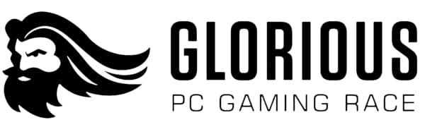 Glorious logo header