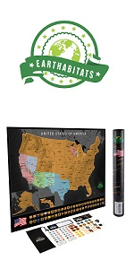 United States Scratch Off Map