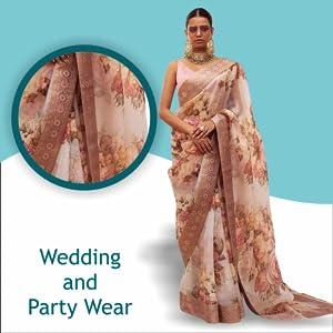 Naixa Woman's  Saree SPN-FOR1