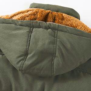 mens coats with hood
