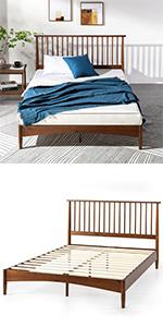 Linda Nordic Bed Frame Scandinavian