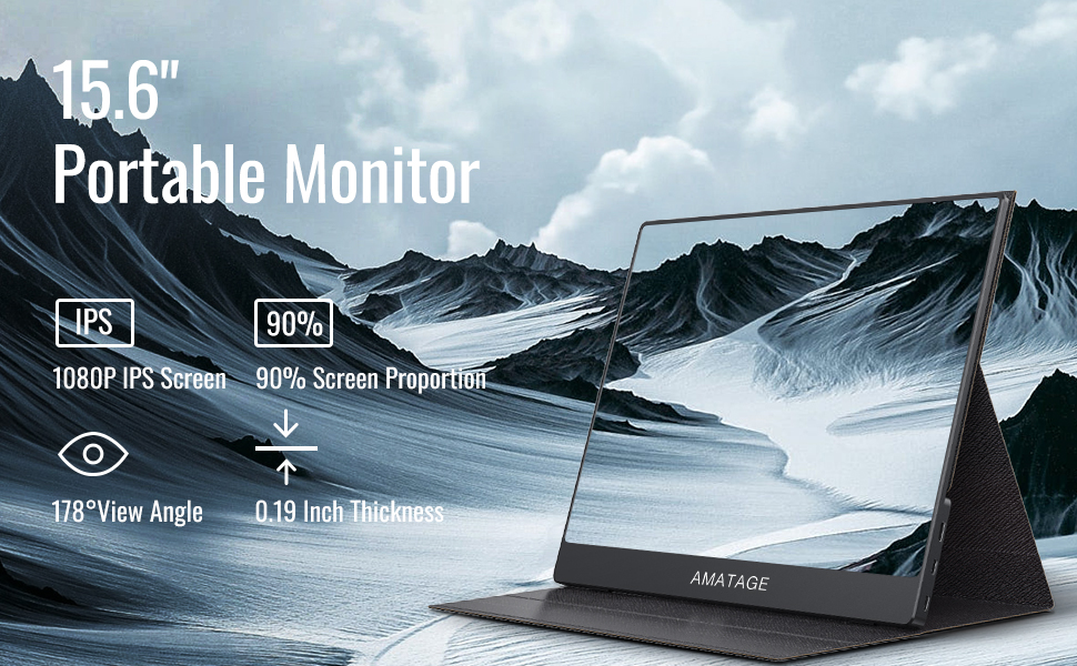 portable monitor hdmi