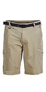Men's Outdoor Quick Dry Lightweight Stretchy Cargo Hiking Shortsal Shorts