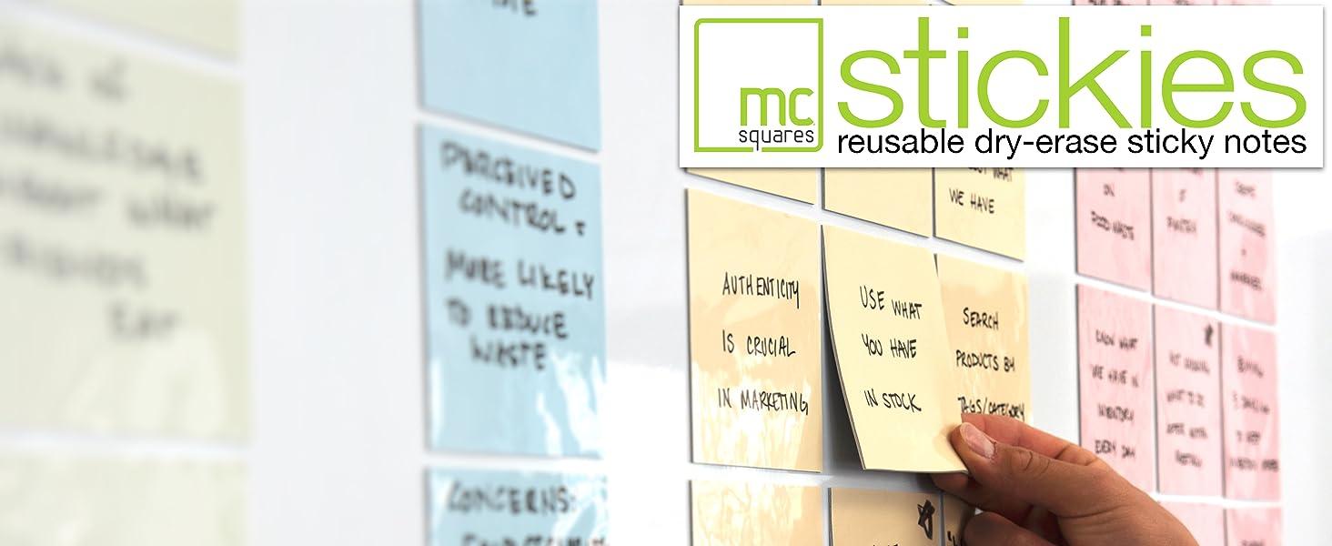 dry erase sticky notes