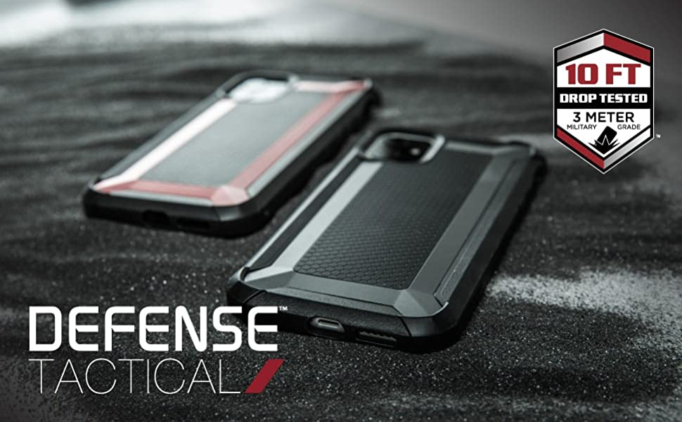iphone 11 case defense tactical xdoria phone protection rugged drop protection tough strong metal