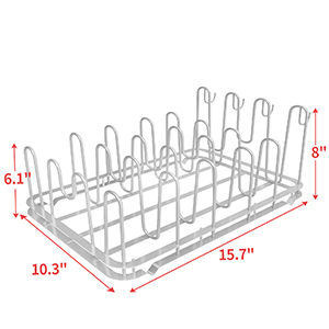 Lid Organizer for Cabinet