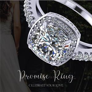 silver rings for women womens rings diamond rings for women couple rings diamond ring cubic zirconia