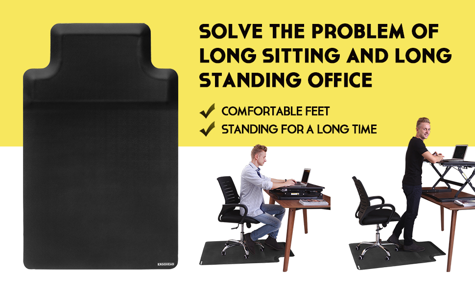 sit stand chair mat
