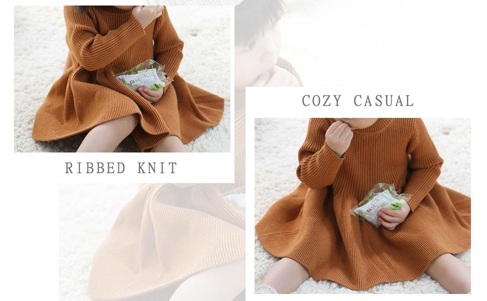 girls cozy sweater