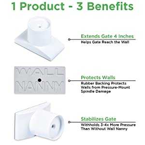 Wall Nanny Extender - regalo baby gate extension munchkin gate extensions