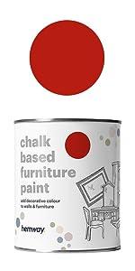 hemway chalk based furniture paint
