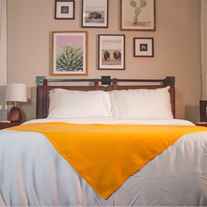 bed spread feature sunflower heavy throw blanket