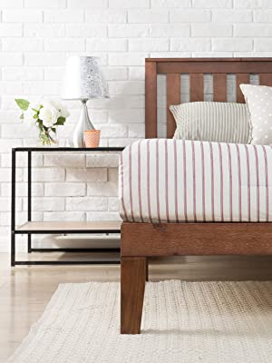 Zinus Solid Timber Wood Bed base frame cheap online australia queen single double king