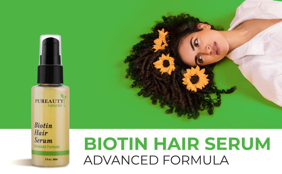 biotin hair serum