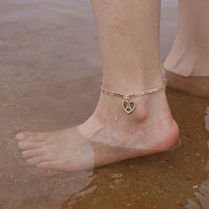 ankle bracelets for women gold
