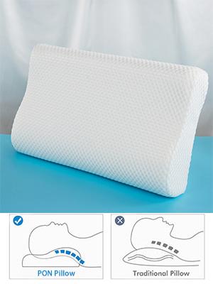 PON Contour Memory Foam Pillow