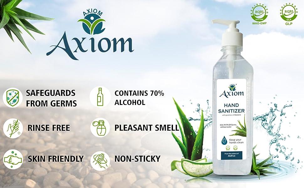 Axiom hand sanitizer