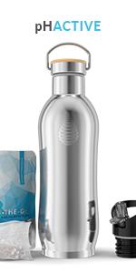 pH ACTIVE - Botella térmica con filtro de agua alcalina ...