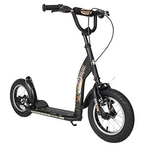 BIKESTAR Kid's scooter 12 inch classic with air tires, metal