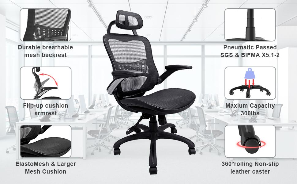 Chair parrts