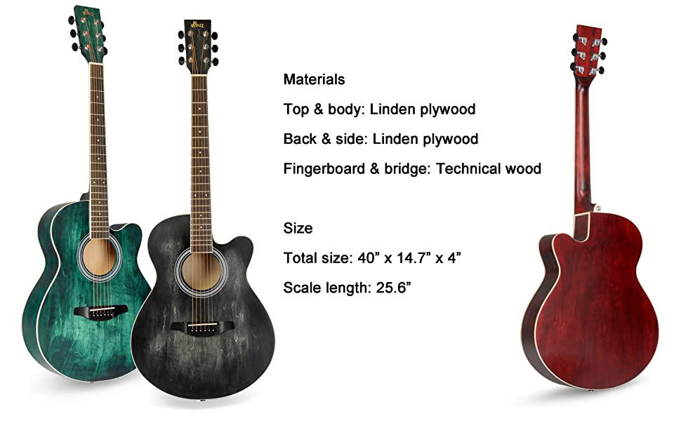 3 colors guitar