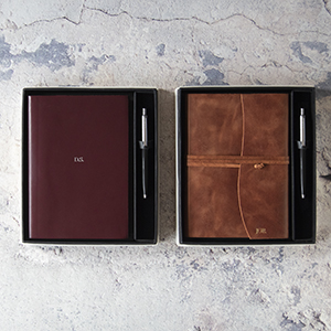 Acuto journal gift set with pen