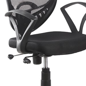 push back chair , adjustable height , ergonomic chair , black office chair , manager chair ,budget