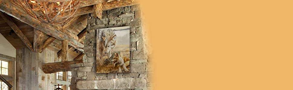 Zoology Lesson staging living home decor rustic cabin western north american amazon banner