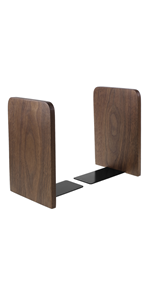 Walnut Wood Bookends