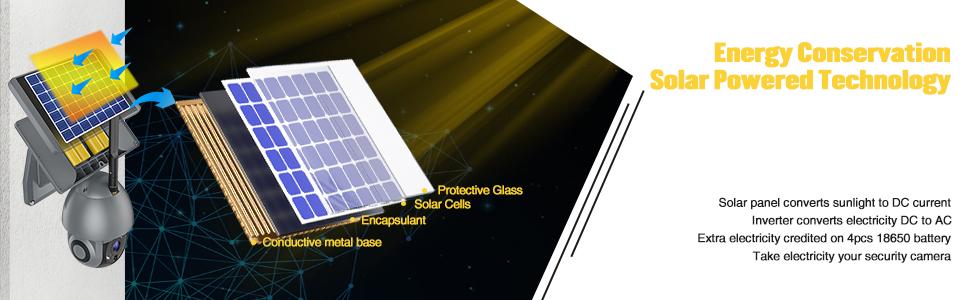 Energy Conservation Solar Powered Technology