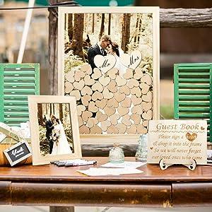 Wedding Guest Drop Top Frame