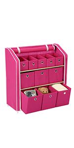 Multi-bin Storage Shelf Unit