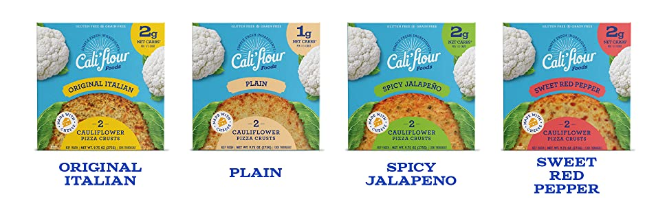 Cauliflower, pizza crust, califlour, low carb
