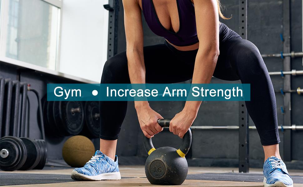 Gym forearm training