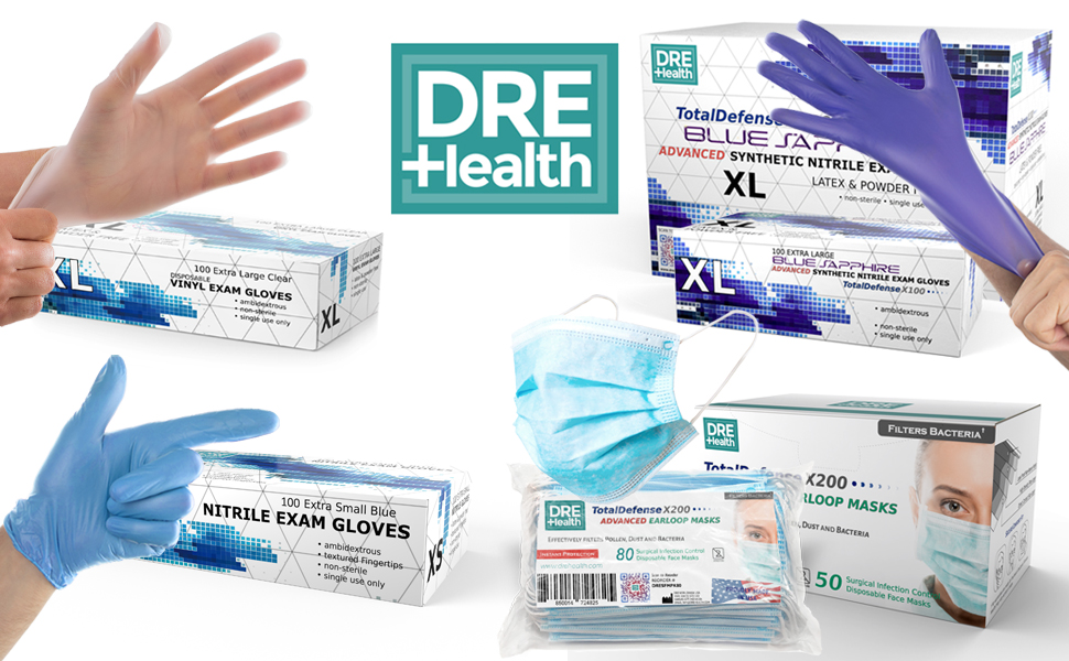 Dre Health personal protection equipment