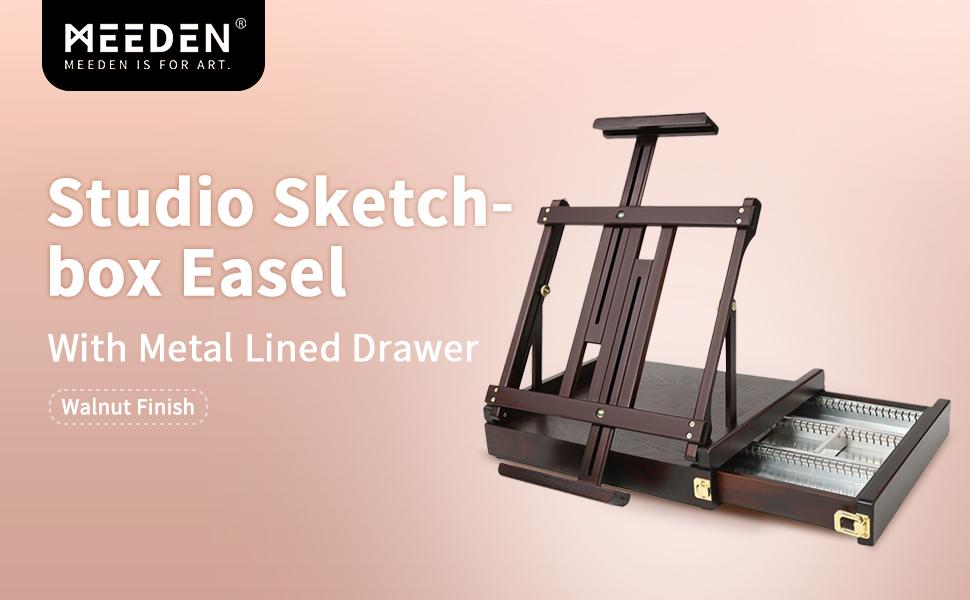 Sketch box easel