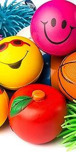 stress balls assortment