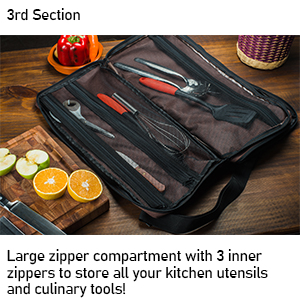 Knife Bag Compartment