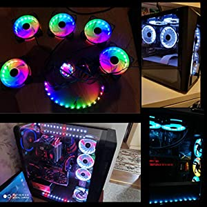 PWM case fan with controller