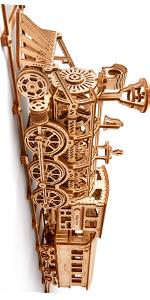 locomotive model kits, train 3d puzzle
