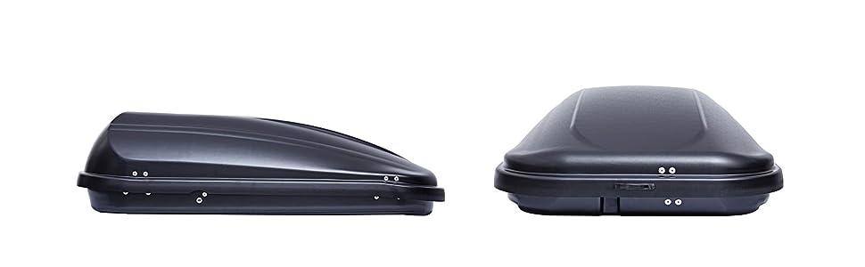 2012-2017 Aluminium Dachtr/äger Aurilis Original f/ür Hyundai i30 II VDP Dachbox JUPRE320 320Ltr schwarz gl/änzend abschlie/ßbar Schr/ägheck 3-5T/ürer