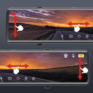 全画面11.88インチIPSタッチパネル-操作が簡単: