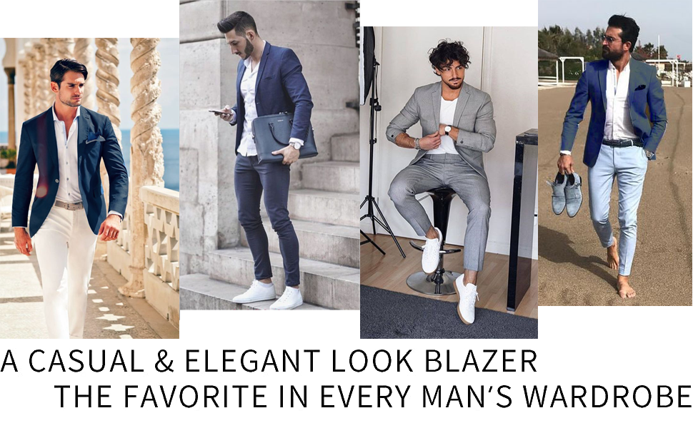 men casual blazer