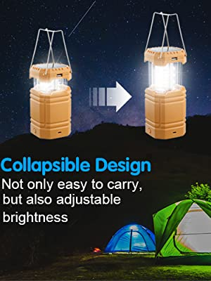 solar camping lantern rechargeable led lantern battery lanterns for power outages camping lantern