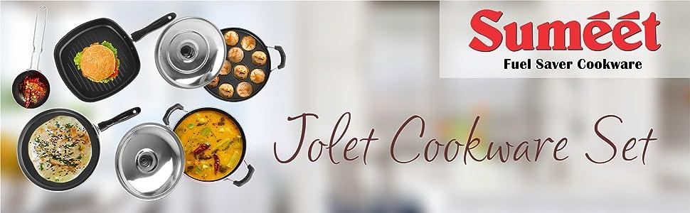 SUMEET JOLET COOKWARE SET