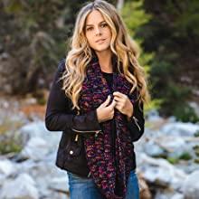 infinity scarf shawl wrap