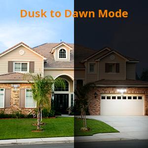 dusk to dawn flood light
