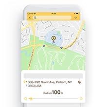 PETBIZ DOG tracker with e-fence virtual fence geo fence settings